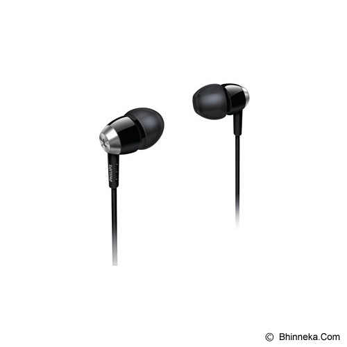 PHILIPS In -Ear Headphones [SHE 7000] - Black - Earphone Ear Monitor / Iem